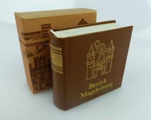Minibuch Bezirk Magdeburg Verlag Zeit im Bild Dresden 1984 DDR bu0374