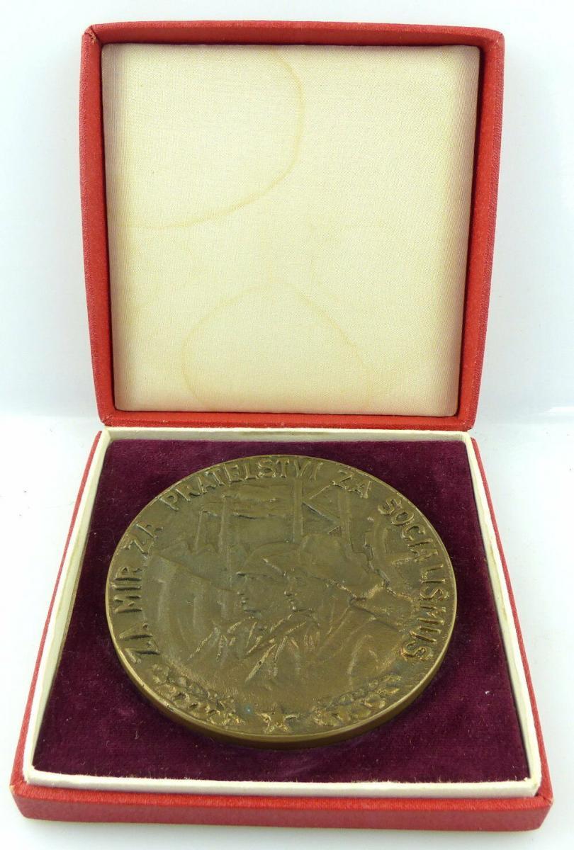 Polnische Bronze Medaille: Ochrance Vzdusneho Orostoru CSSR Voj.Karpatsky e1356