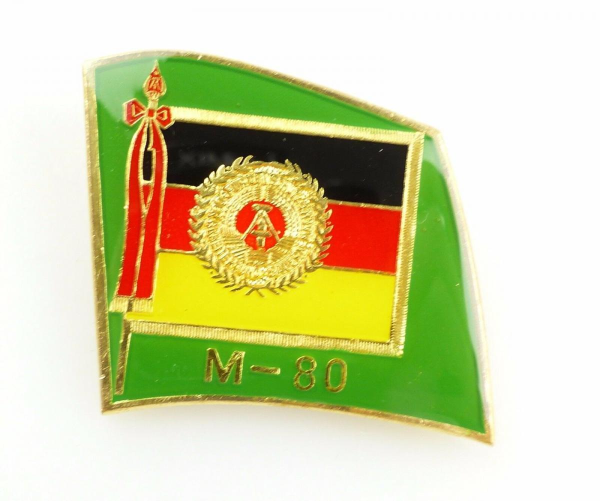 #e5591 Anstecknadel / Abzeichen für Manöverbeobachter M-80 DDR goldfarben