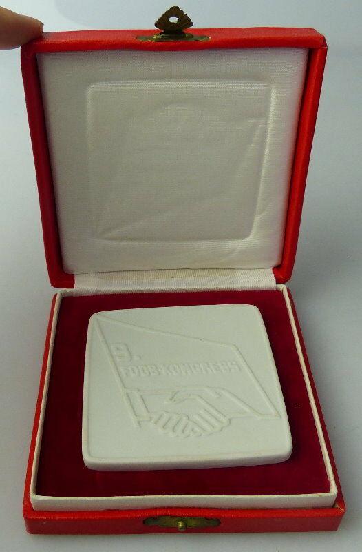Medaille 9 FDGB Kongress Mai 1977 Berlin im Palast der Republik Orden1708