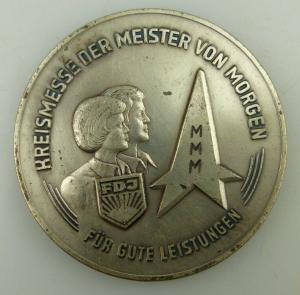 Medaille: FDJ MMM Für gute Leistungen Kreismesse der Meister von Morg, Orden1701