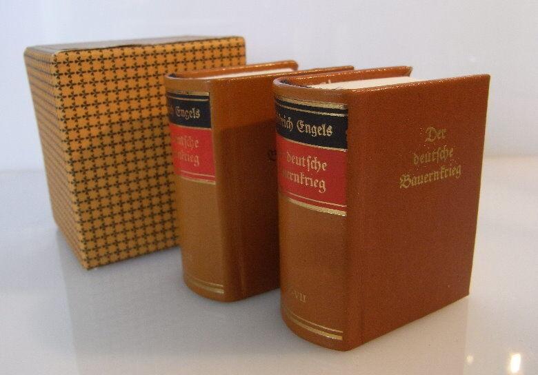Minibuch: Der deutsche Bauernkrieg Friedrich Engels in altdeutscher Schr. bu0069