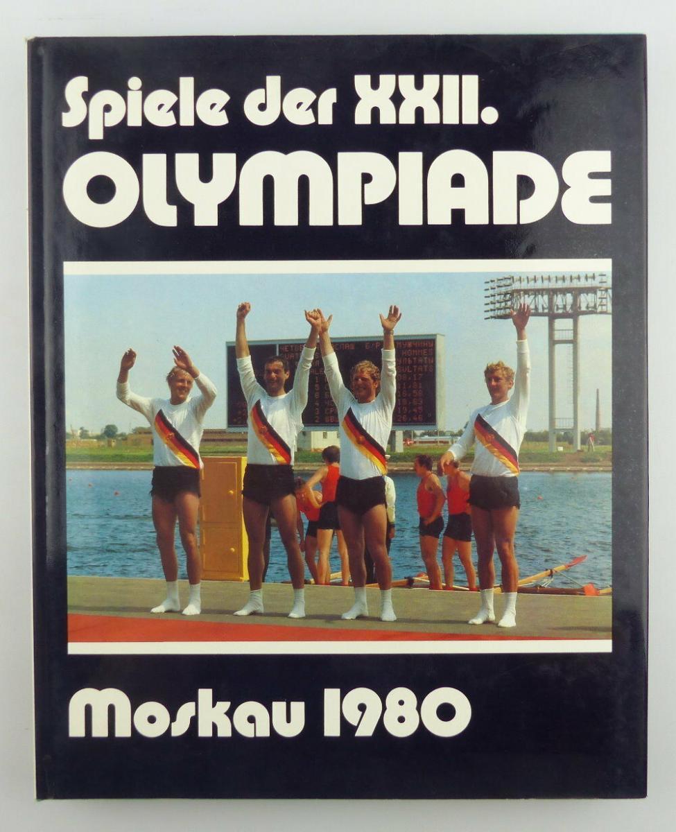 Buch: Spiele der XXII. Olympiade Moskau 1980/ XIII. Sportverlag Berlin e770