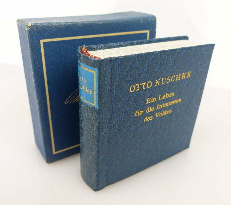 Minibuch Otto Nuschke Ein Leben für die Interessen des Volkes bu0847