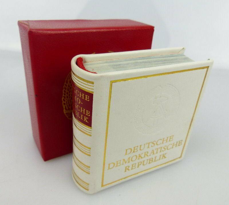Minibuch Deutsche Demokratische Republik Verlag Zeit im Bid DDR bu0846