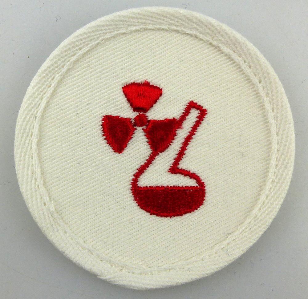 Aufnäher Seestreitkräfte Volksmarine Chemischer Dienst vgl. Band II Nr. 1124 b