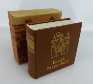 Minibuch Bezirk Magdeburg Offizin Andersen Nexö Verlag Zeit im Bild bu0329