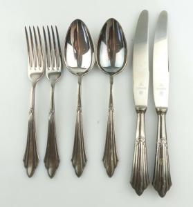 #e8556 Besteck für 2 Personen, 2 Messer, 2 Gabeln, 2 Esslöffel von WMF