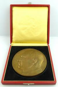 Große alte Bronze Medaille: Ernst Thälmann 1886-1944 e1325