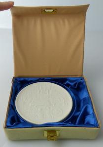 Meissen Medaille: 5 Jahre vorbildliche Grundorgansation DRK, Orden2084