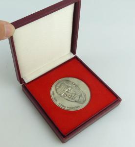 Medaille : Wilhelm Pieck 1876-1960  im Etui / r445