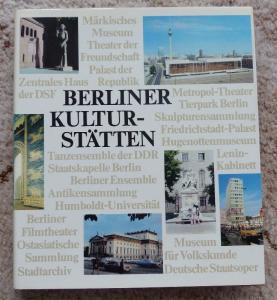 Berliner Kulturstätten von Alfred Doil VEB F. A. Brockhaus Verlag Leip, Buch1630