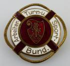 Abzeichen: Arbeiter Turn- und Sportbund Wassersport emailliert, Orden2818