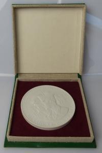 Meissen Medaille: DDR 30 Alles für die Erfüllung unseres Klassenauftr, Orden1402