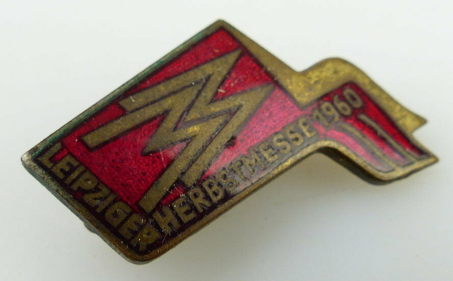 Abzeichen Leipziger Herbstmesse 1960 Orden1037 1