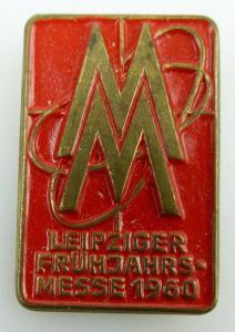 Abzeichen Leipziger Frühjahrsmesse 1960 Orden1036