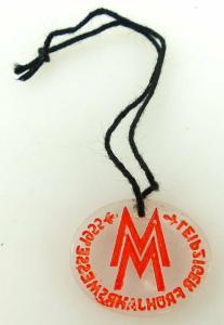 Abzeichen Leipziger Frühjahrsmesse 1955 Orden1027