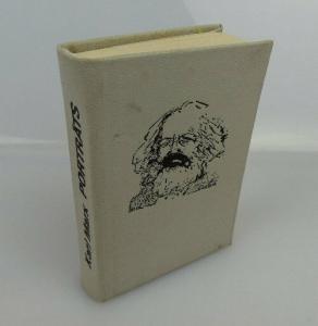 Minibuch: Karl Marx Porträts Illustrationen Plastiken Verlag Junge Welt bu0413