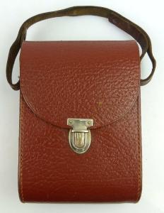 Braune Fernglastasche für z.B. Carl Zeiss Jena Ferngläser 6x30, 8x30 fern416