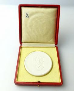 #e3476 Meissen Medaille Volkssolidarität Zentralausschuss Berlin 1972