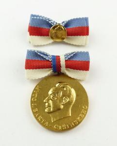 #e7765 Cisinski-Preis (1978-89) vgl. Band I Nr. 33 c I. Klasse goldfarben DDR