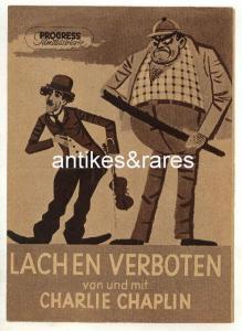 Filmprogramm: Lachen verboten von & mit Charlie Chaplin