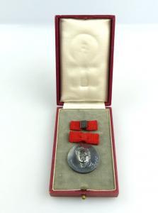 #e4956 FDGB Fritz Heckert Medaille vgl. Band IV Nr. 4 a 900 (Ag) Silber