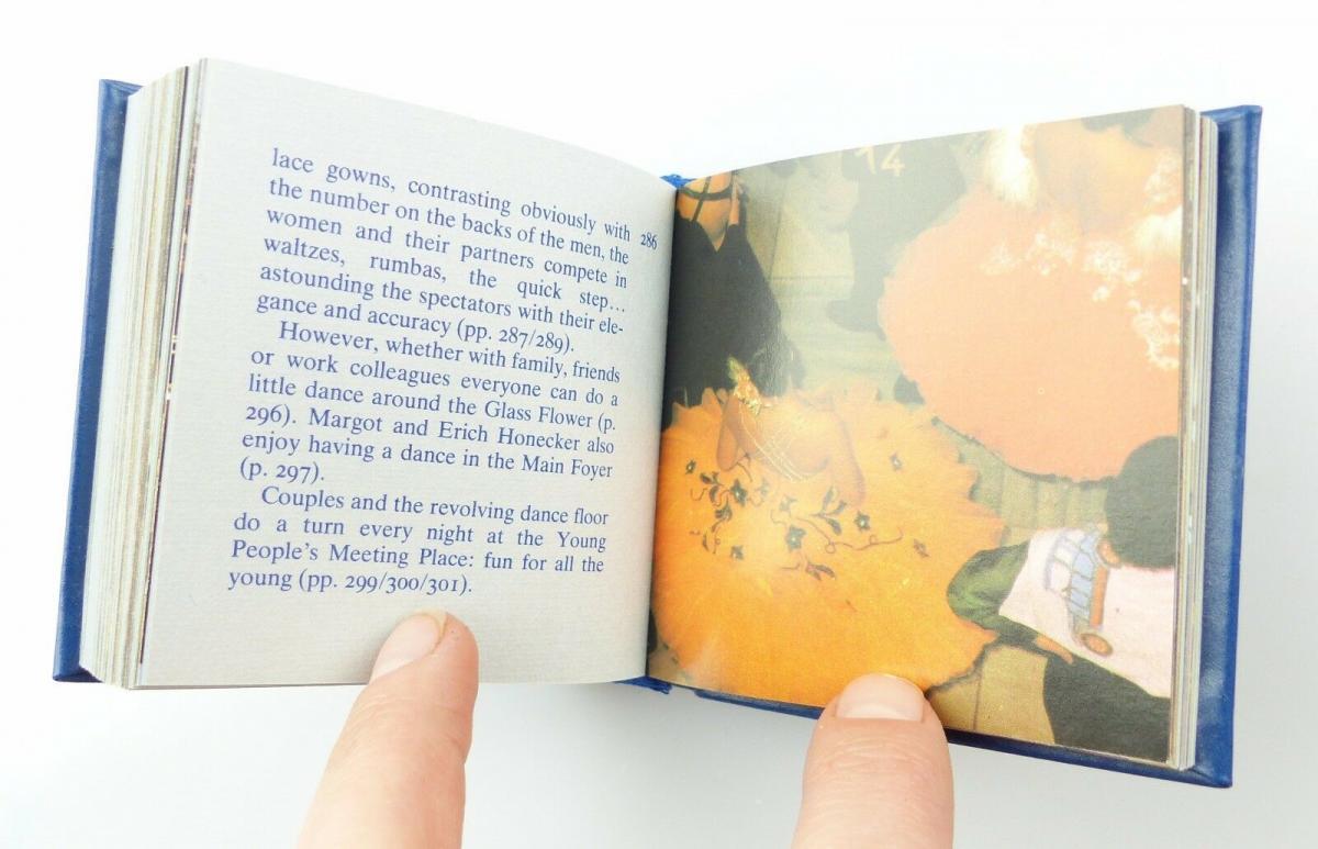 Minibuch Palast der Republik Auflage Orden2310 Haus des Volkes 1986 1