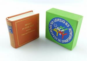 #e5882 Minibuch: Sport in der DDR Feste un Traditionen Offizin Andersen Nexö