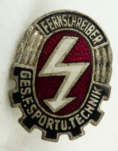 GST667a vgl. Band VII Nr. 667a in Silber Fernsprech Leistungsabzeichen ab 1964