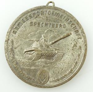 E11024 Medaille für sozialistische Körperkultur ASV Spechtberg sehr selten
