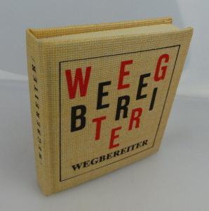 Minibuch: Wegbereiter Hans-Peter Schulze Verlag Junge Welt Berlin bu0455