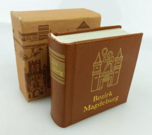 Minibuch Bezirk Magdeburg Offizin Andersen Nexö Verlag Zeit im Bild bu0848