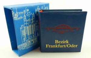 Minibuch : Bezirk Frankfurt/Oder, Verlag Zeit im Bild Dresden 1988 /r626