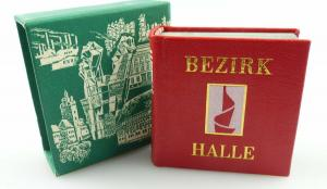 Minibuch : Bezirk Halle , Verlag Zeit im Bild Dresden 1979 /r621