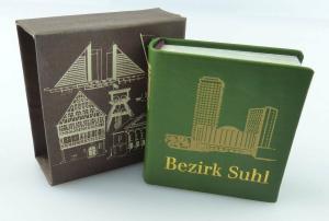 Minibuch : Bezirk Suhl , Verlag Zeit im Bild Dresden 1986  /r640