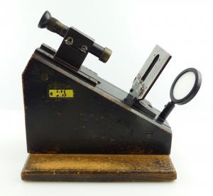 E11095 Alter Carl Zeiss Kollimator zur Justierung von Ferngläsern Sammlerstück