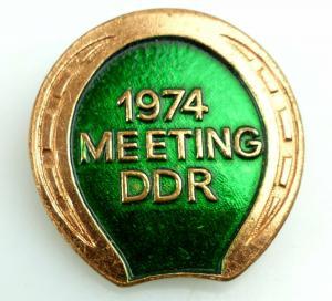 Abzeichen: 1974 Meeting DDR e1767