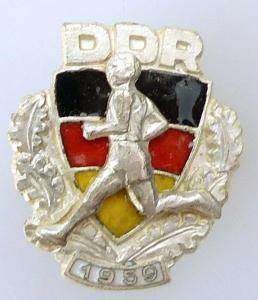Abzeichen der Sportklassifizierung 1959 für Erwachsene Nr. 2032, 59a e1763