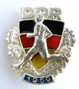 Abzeichen der Sportklassifizierung1959 für Jugendliche Nr. 2035, 59a e1762