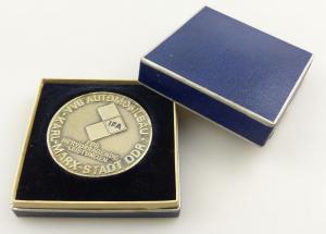 E11175 Original alte DDR Medaille VVB Automobilbau Karl Marx Stadt IFA