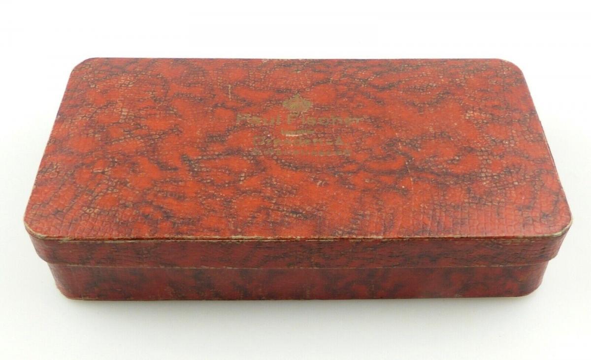 E11173 6 original alte versilberte Kuchengabeln 100er Silberauflage 6