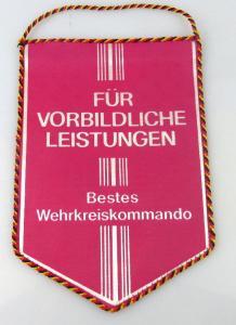 Wimpel: Bestes Wehrkreiskommando / r008