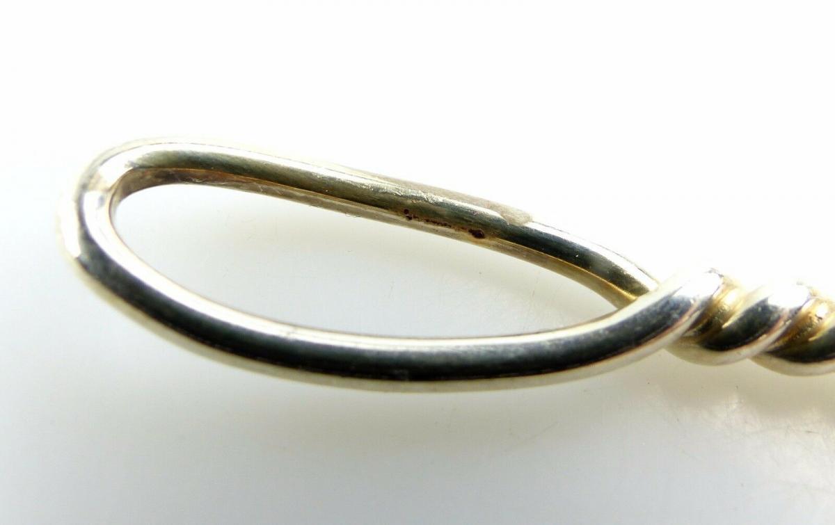 #e5398 Schöne alte Vorlegegabel aus 800 (Ag) Silber 7