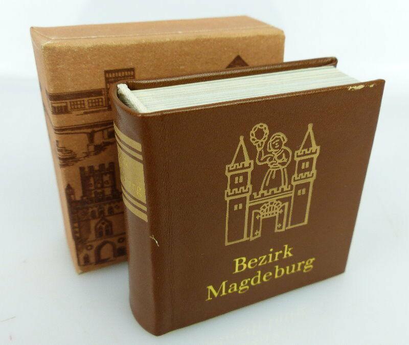 Minibuch Bezirk Magdeburg Verlag Zeit im Bild Dresden 1984 bu0783 0