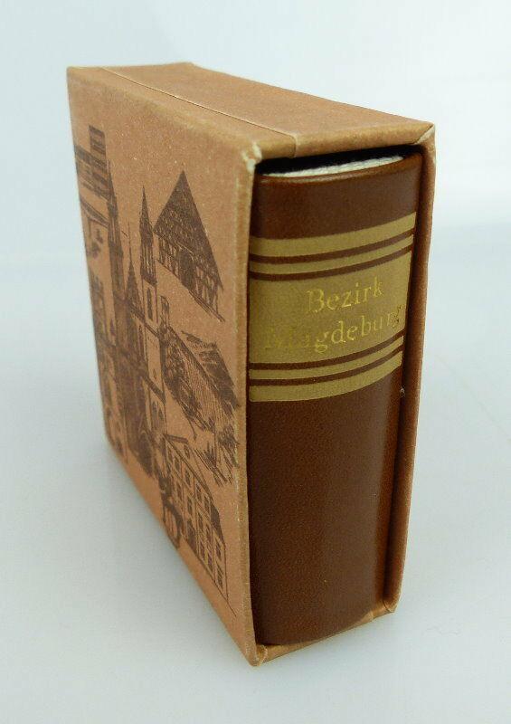 Minibuch Bezirk Magdeburg Verlag Zeit im Bild Dresden 1984 bu0783 1