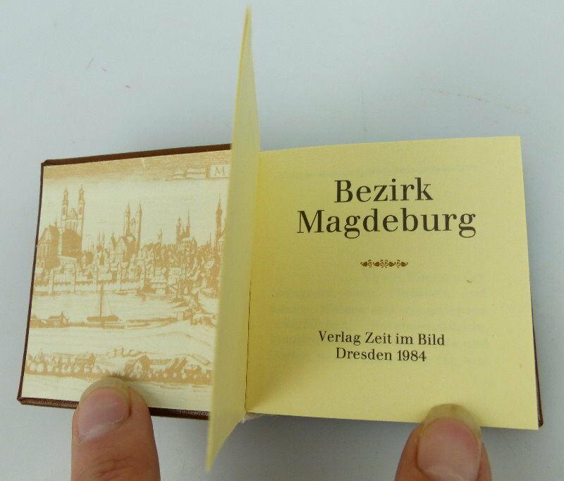 Minibuch Bezirk Magdeburg Verlag Zeit im Bild Dresden 1984 bu0783 2