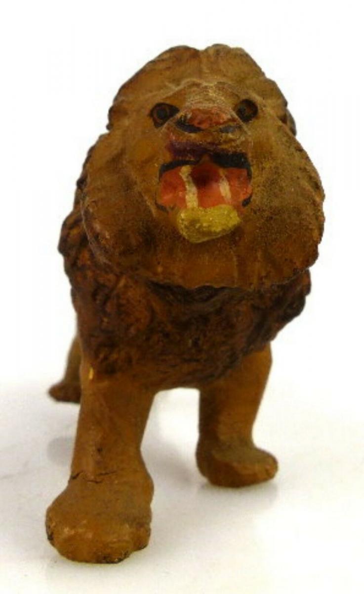 Altes Masse Lineol Tier Löwe 2