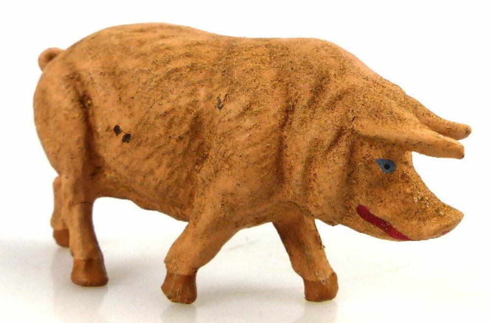 Altes Masse Lineol Tier Hausschwein Schwein 0
