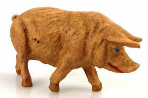 Altes Masse Lineol Tier Hausschwein Schwein